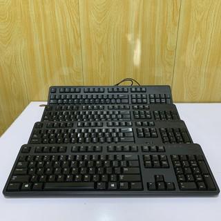 Bàn phím máy tính Dell cũ có dây thanh lý văn phòng còn dùng tốt