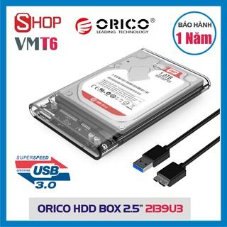 Box ổ cứng ORICO 2.5″ (2139U3, 2577U3, 2020U3…) cổng USB 3.0 – Chính hãng bảo hành 12 tháng !