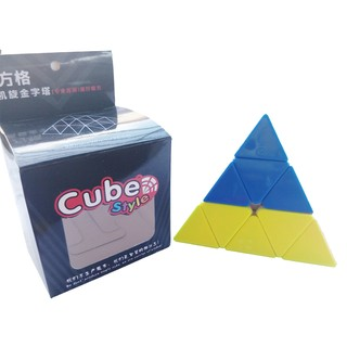 Rubik Cube Style Tam giác – Kim tự tháp – Pyraminx – Stickerless