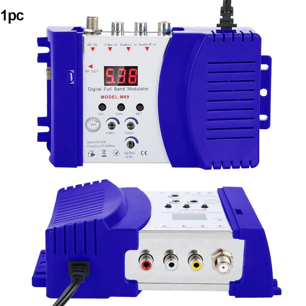 Modulator AV To RF Professional Accessories Digital Coax TV Adapter Converter Home