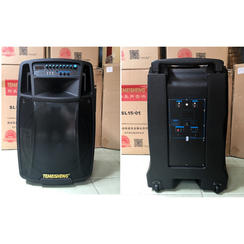 Loa vali kéo di động Bluetooth Karaoke TEMEISHENG SL-15-01