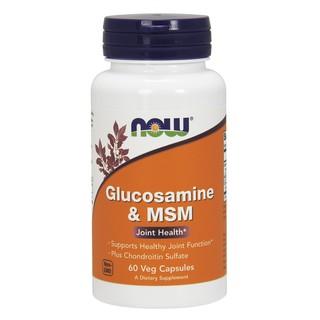Bổ khớp, hỗ trợ xương khớp và sụn khớp giảm đau khớp và thoái hóa khớp, sụn khớp Glucosamine 60 viên hãng NOW foods USA