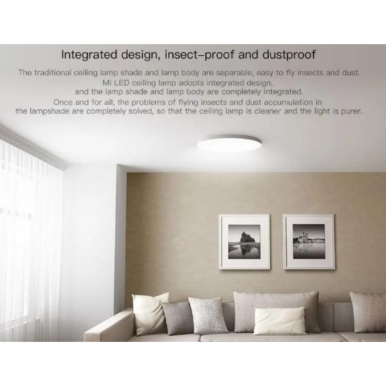 Đèn trần thông minh XIAOMI Mijia LED Ceiling Lamp With Wifi&Bluetooth Control New