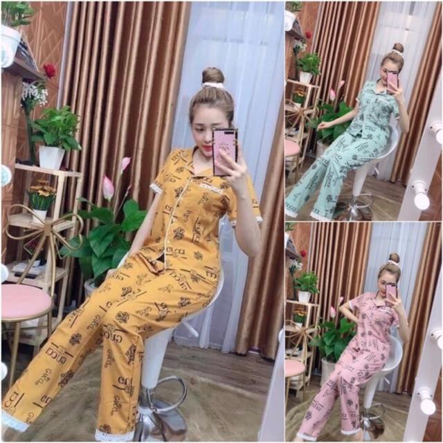 Bộ Pijama Lụa Hàn size 40-60kg