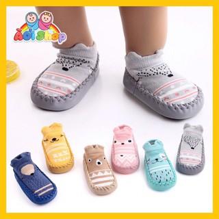 [KM] Combo 12 đôi giày tất, vớ tập đi cho bé ( sỉ)