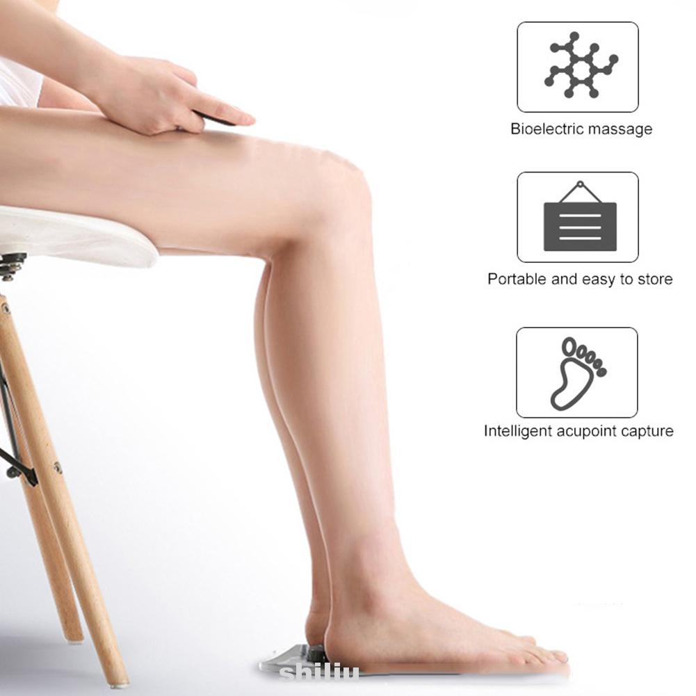 Health Care Anti-slip Electric Relief Pain Physiotherapy Simulation Foot Massager