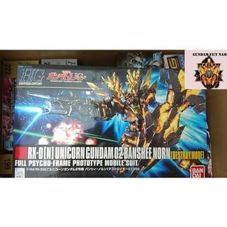 Mô hình đồ chơi gundam rx-0 unicorn gundam 02 banshee (destroy mode)