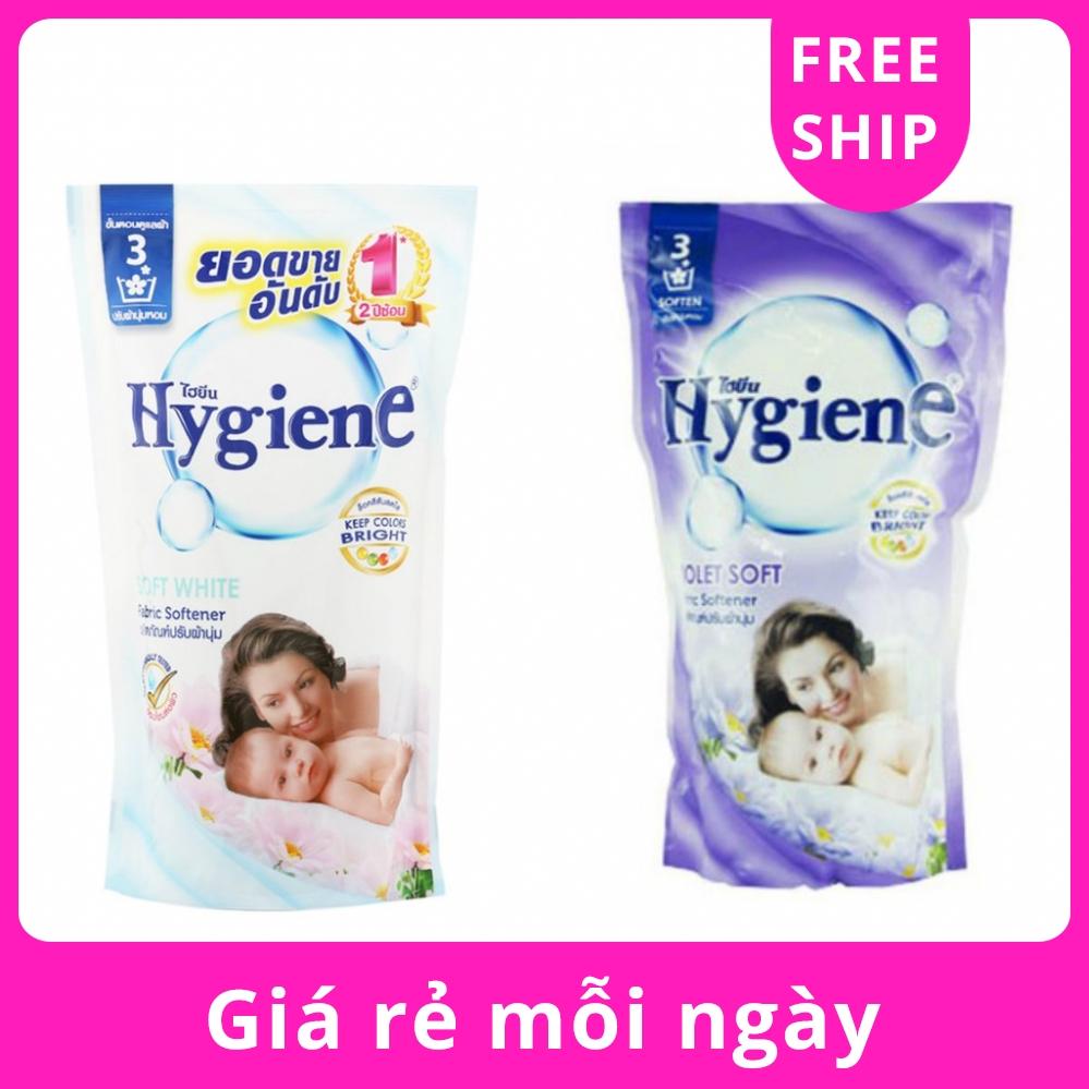 Nước Xả Vải Hương Hoa Thơm Ngát Hygiene Fabric Softener Thái Lan