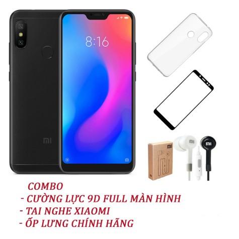 Điện thoại Xiaomi Redmi 6 Pro 32GB RAM 3GB - Hàng Nhập Khẩu (đã cài Play Store) (BH 12 tháng)