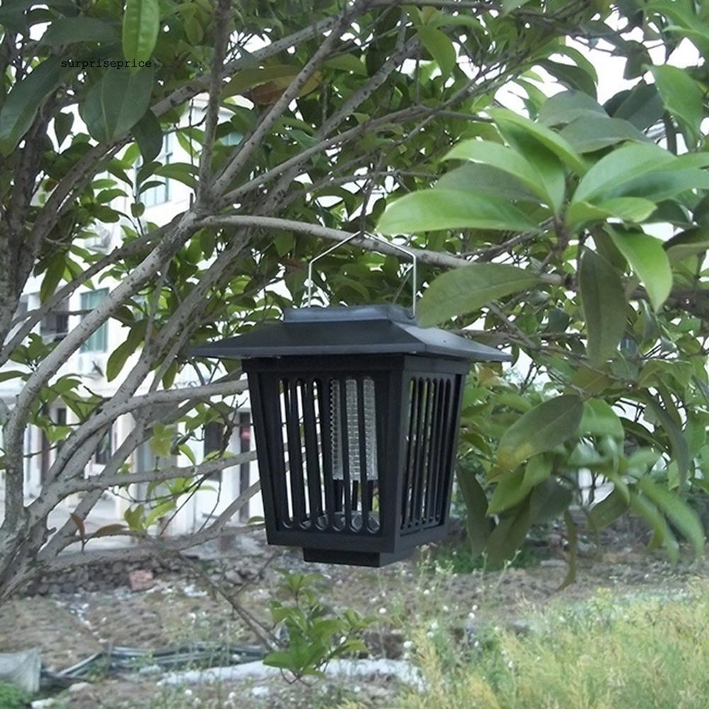 Đèn LED diệt muỗi và côn trùng sử dụng năng lượng mặt trời