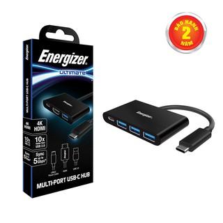 Bộ chuyển USB-C3.1 Hub Energizer 3USB-A/1USB-C - HC304AC