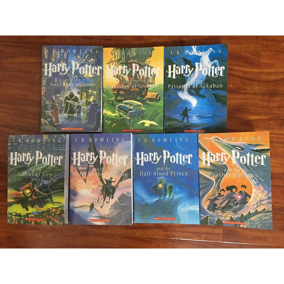 Harry Potter (100% tiếng anh)