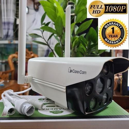 👉 Camera IP WIFI ngoài trời CARECAM 2.0MP - Full HD - Chống nước hoàn toàn - Kèm thẻ nhớ 32Gb/64Gb [tùy chọn]