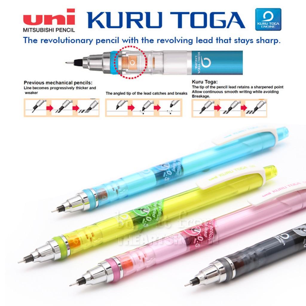 Bút chì bấm UNI - KURU TOGA ngòi 0.5mm tự động xoay khi viết M5-450T (tặng kèm ngòi) - 3169058 , 1096393047 , 322_1096393047 , 70000 , But-chi-bam-UNI-KURU-TOGA-ngoi-0.5mm-tu-dong-xoay-khi-viet-M5-450T-tang-kem-ngoi-322_1096393047 , shopee.vn , Bút chì bấm UNI - KURU TOGA ngòi 0.5mm tự động xoay khi viết M5-450T (tặng kèm ngòi)