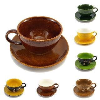 Cốc Cafe Cappuccino 220ml nhiều màu sắc