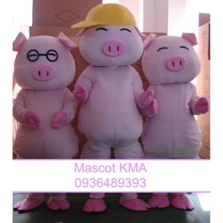 Quần áo hoá trang Mascot Heo nhật bản – sinh nhật, sự kiện