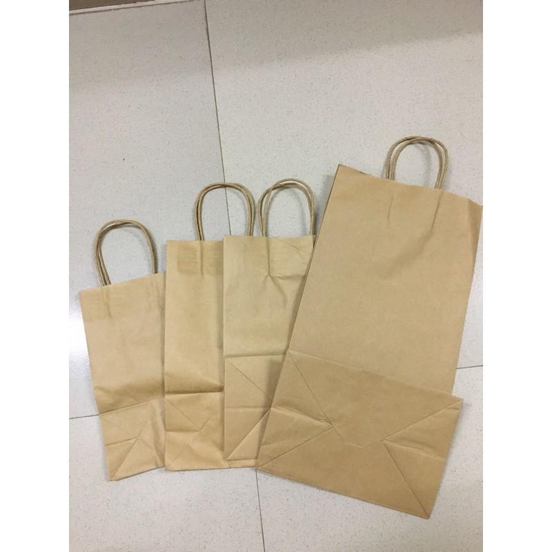 Túi giấy xi măng có quai đủ kích thước