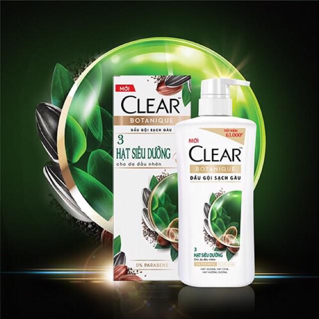 Image result for CLEAR Botanique 3 Hạt Siêu Dưỡng dep365