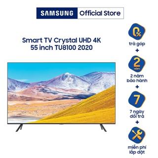 """[Mã SAMAPR giảm 5% đơn 4TR5] Smart Tivi 4K UHD Samsung 55 inch UA55TU8100KXXV - Miễn phí lắp đặt giá chỉ còn <strong class=""""price"""">1.221.000.000.000đ</strong>"""