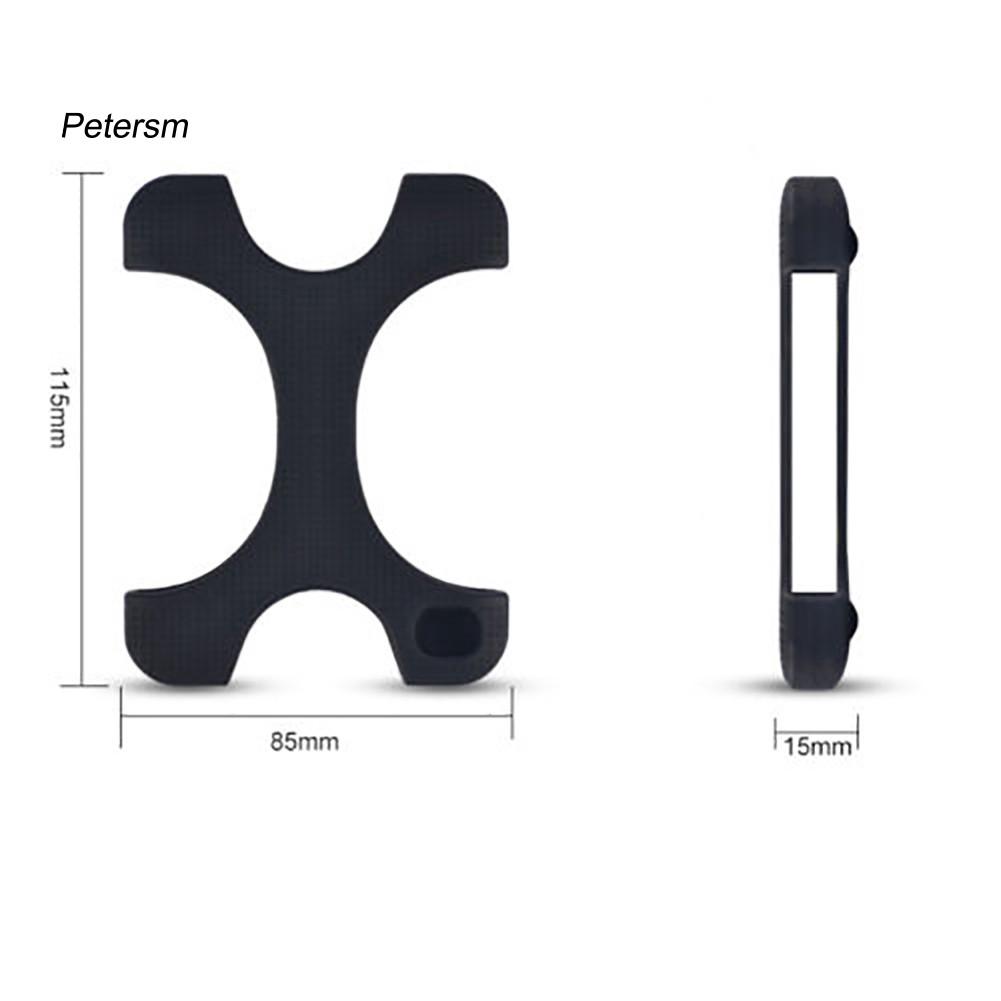 Vỏ Silicone Bảo Vệ Ổ Cứng 2.5 Inch Hình Chữ X Chống Trượt