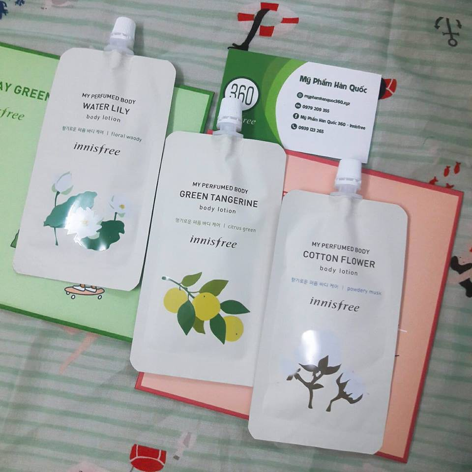 [Sample] Sữa Dưỡng Thể Innisfree My Perfumed Body Lotion 20ml - 3063668 , 1289027595 , 322_1289027595 , 30000 , Sample-Sua-Duong-The-Innisfree-My-Perfumed-Body-Lotion-20ml-322_1289027595 , shopee.vn , [Sample] Sữa Dưỡng Thể Innisfree My Perfumed Body Lotion 20ml