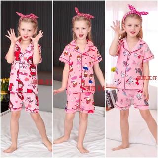 Pijama xuất hàn KaiKai cho bé gái từ 9 đến 17kg