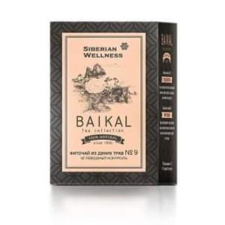 Trà thảo mộc Baikal tea collection. Herbal tea №9 Siberi tốt cho người có chỉ số đường huyết cao