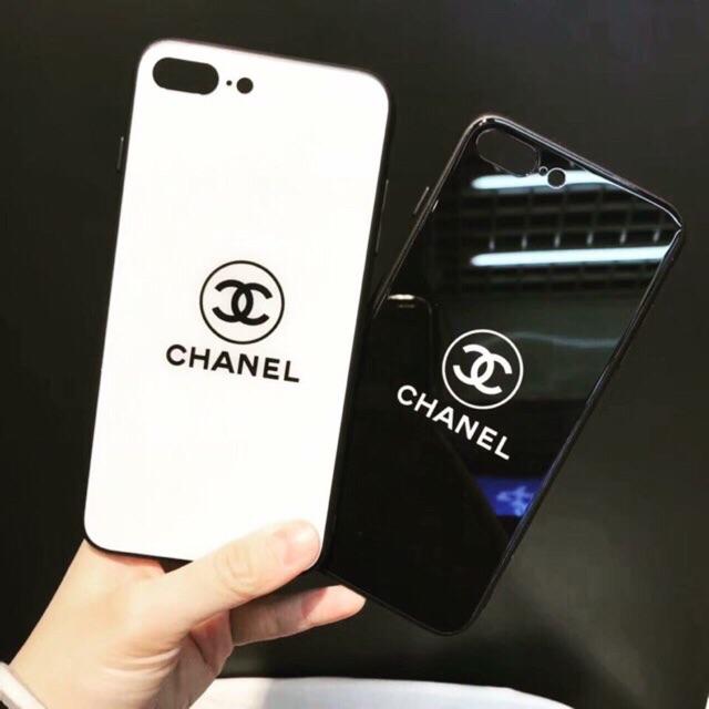 ỐP KÍNH CAO CẤP CHỐNG XƯỚC CHANEL IPHONE 6 6s 6plus 7 7plus 8 8plus X