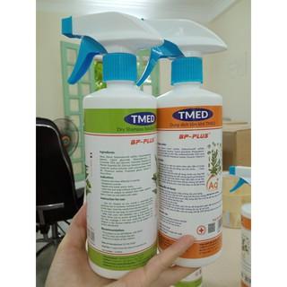 Dung dịch tắm khô / gội khô TMed 500ml