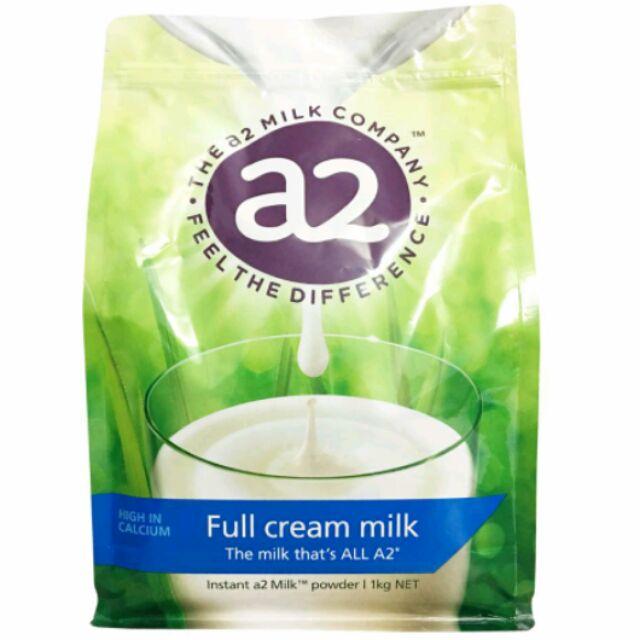 Sữa tươi A2 nguyên kem Úc ( chuẩn xách tay, mẫu mới, date mới 8/2019)