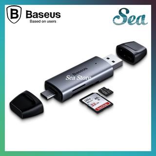 Đầu đọc thẻ nhớ đa năng tốc độ cao Baseus Lentil - Hỗ trợ truyền dữ liệu 5Gbps - Tương thích mọi hệ điều hành