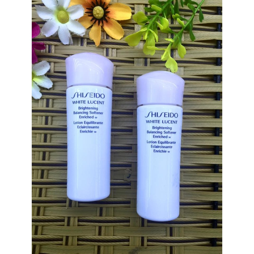 Nước hoa hồng Dưỡng trắng da SHISEIDO White Lucent 25ML - 2592708 , 52003894 , 322_52003894 , 95000 , Nuoc-hoa-hong-Duong-trang-da-SHISEIDO-White-Lucent-25ML-322_52003894 , shopee.vn , Nước hoa hồng Dưỡng trắng da SHISEIDO White Lucent 25ML