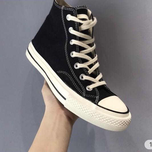 Giày Thể Thao CV Đen Cao Sneaker Nam Nữ
