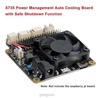 Bảng Mạch Làm Mát Thông Minh 5v Cho Raspberry Pi 4b 3b