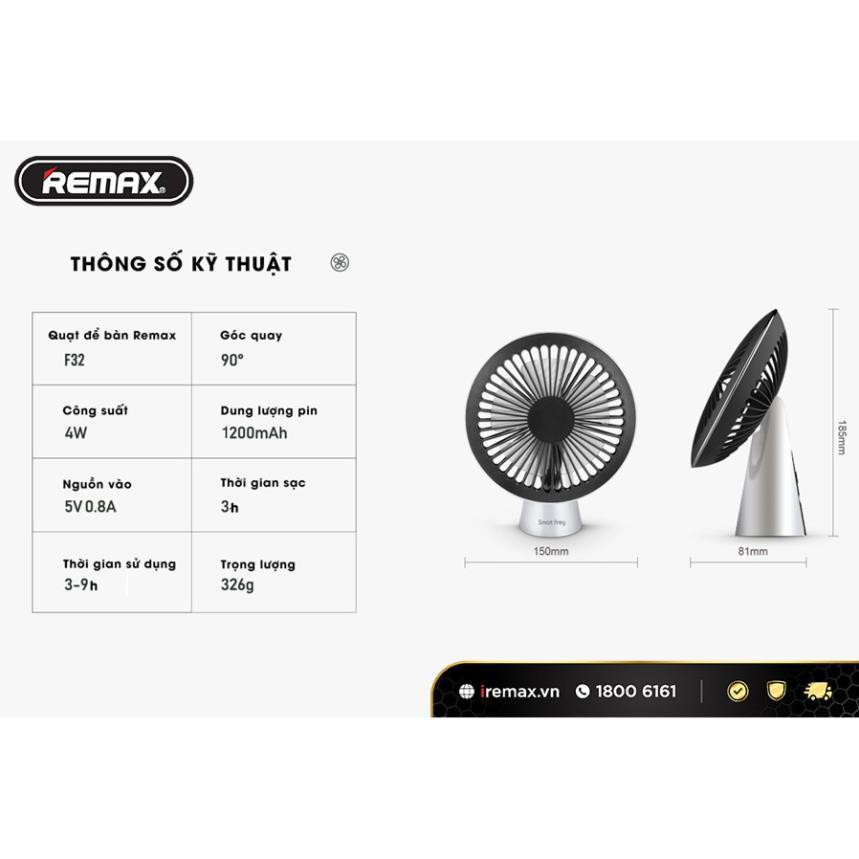 Quạt để bàn Remax F32