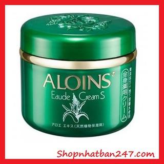 Kem lô hội Aloins Eaude Cream S Nhật Bnr, Nắp xanh 185g - 100% Authentic thumbnail