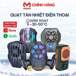 [Mã ELFLASH5 giảm 20K đơn 50K] Quạt tản nhiệt điện thoại có sò lạnh chính hãng MEMO