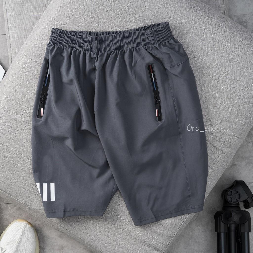 Quần đùi 5 màu thời trang One007, chất liệu vải gió mềm, mỏng cực mát.