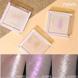 Phấn Nhũ Bắt Sáng Novo Crystal Bright Skin thumbnail