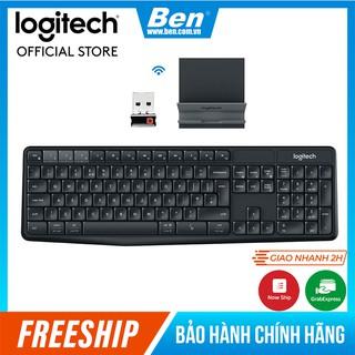 Bộ bàn phím không dây và giá đỡ LOGITECH K375s thumbnail