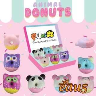 ☜♠☞Animal Donut Jumbo Size Rare Licensed Squishy Kids Squeeze Toy Pressure Relief