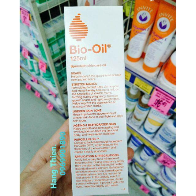 Bio oil -  trị rạn da, liền sẹo cho các bà bầu và mẹ sau sinh