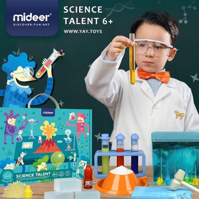 Mideer – Bộ thí nghiệm khoa học – Bé tạp làm nhà khoa học