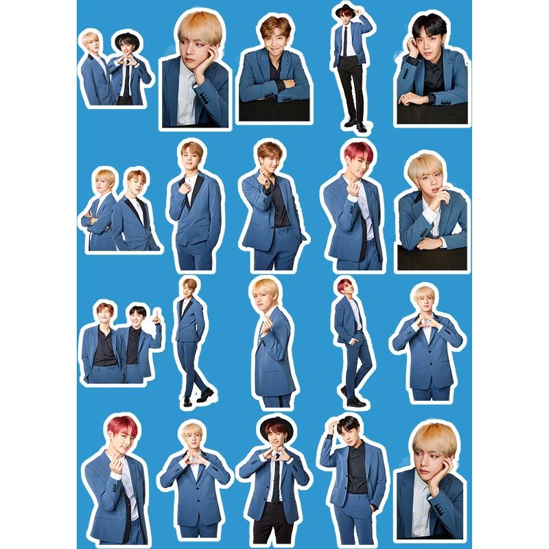 Sticker Dán Trang Trí Điện Thoại Hình Nhân Vật Hoạt Hình Dễ Thương