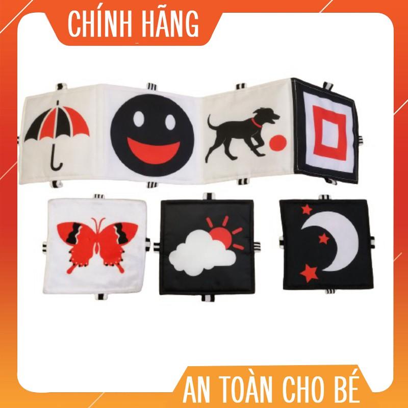 Combo Sách Vải Đen Trắng Đỏ – Đồ Chơi Sạch Cánh Diều – Made in Việt Nam
