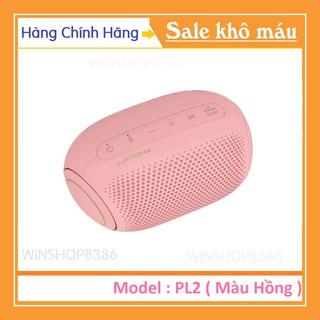 Loa Xboom Bluetooth LG PL2P Màu Hồng 100% Chính Hãng