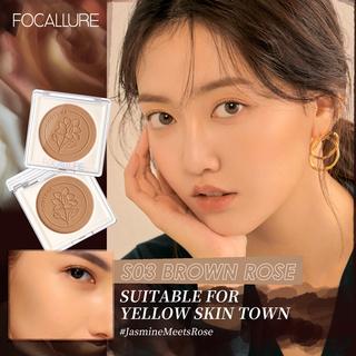 Focallure Full Coverage Creamy Smooth Texture JasmineMeetsRose Contour 1pc 3.7g 3