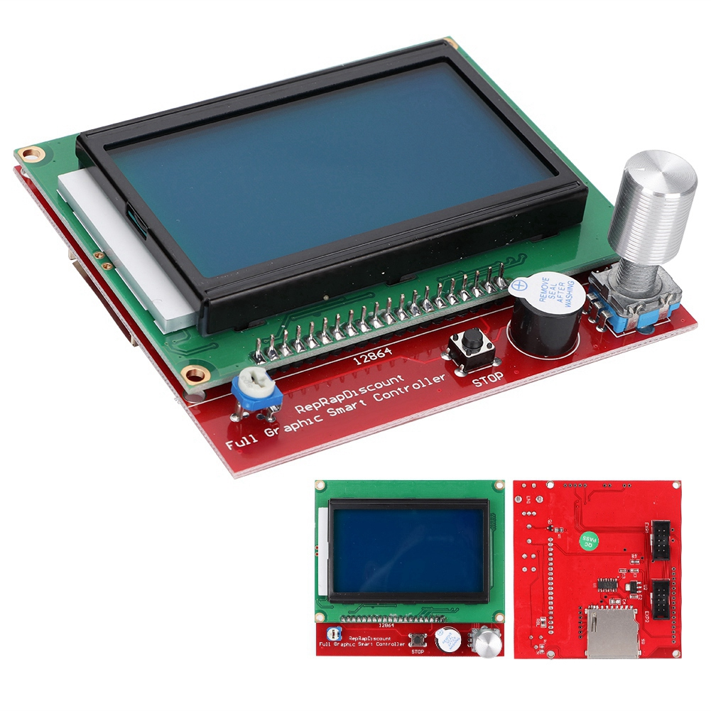 3D Printer Accessories Smoothieboard 5X V1 1+12864 LCD