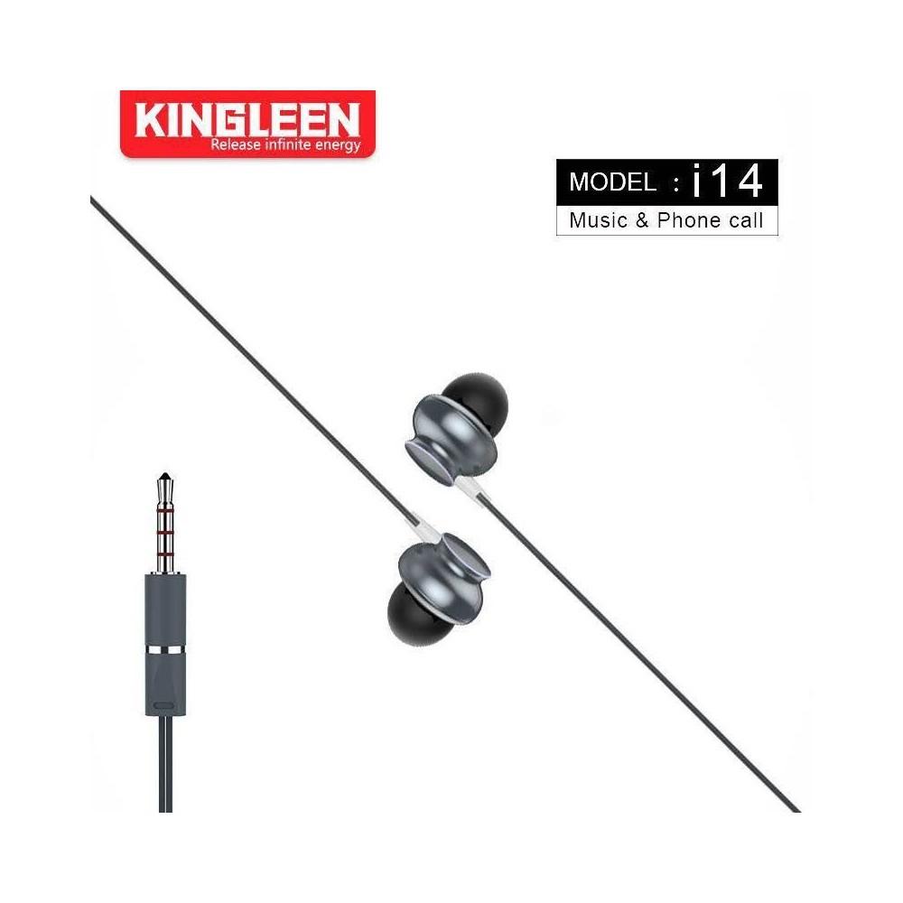 Tai nghe-Tai phone có dây Kingleen i14