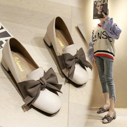 Free❤️Ship Giày Nữ NƠ LỤA Phong Cách Hàn Quốc ( Mã A5 )
